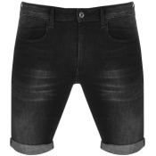 G Star Raw 3301 Denim Shorts Grey